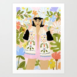 I Want To See The Beauty In The World Art Print