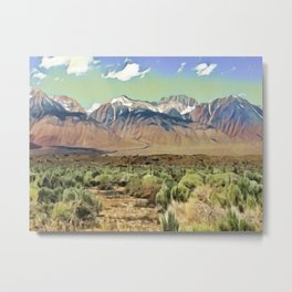 Sierra Nevada I Metal Print