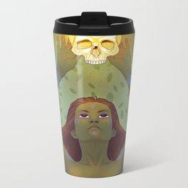 Crown of Fire Metal Travel Mug