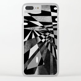 pattern decor 2 # Clear iPhone Case