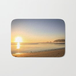 Canon Beach Sunset Bath Mat