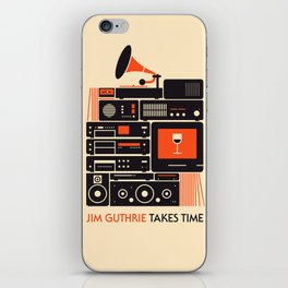 Jim Guthrie Takes Time iPhone Skin