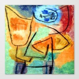 Paul Klee Stuffed Angel Canvas Print