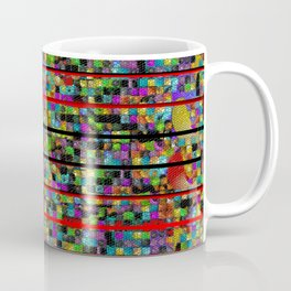 """Madrone Candea - Abstract 0002  """"Lava Flow At Cathedral"""" Coffee Mug"""