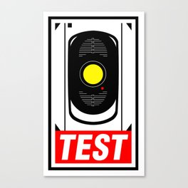OBEY GLaDOS Canvas Print