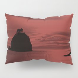 Crimson Nightfall Pillow Sham