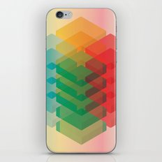 Color Cubes iPhone & iPod Skin