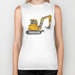 Digger excavators dredger Biker Tank