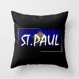 St.Paul Throw Pillow