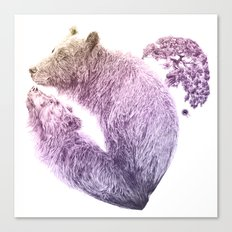 Bear your Heart v2 Canvas Print