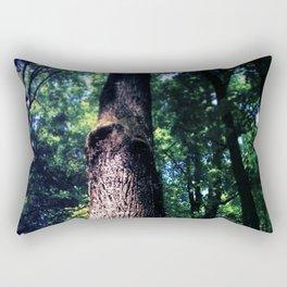 Tree Trunk Rectangular Pillow
