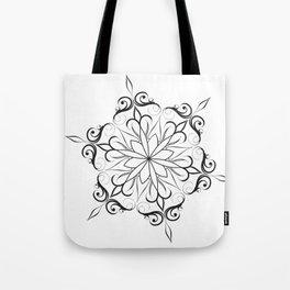 hand drawn mandala Tote Bag
