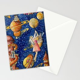 Escape plan Stationery Cards