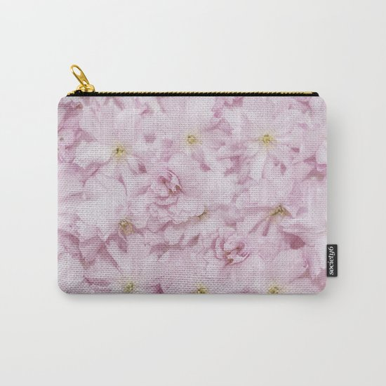 Sakura- cherryblossoms pattern Carry-All Pouch