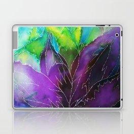 Purple Leaf Laptop & iPad Skin