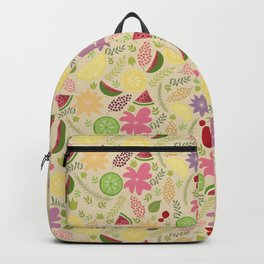 Looking for the SUMMER Fruits Flowers Sunshine Backpack