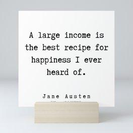 86   | Jane Austen Quotes | 190722 Mini Art Print