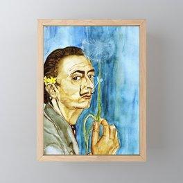 Dali Dandelion Framed Mini Art Print