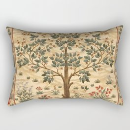 "William Morris ""Tree of life"" 3. Rectangular Pillow"