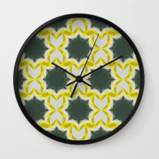 Weird Squares Wall Clock