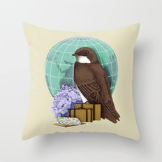Little World Traveler Throw Pillow
