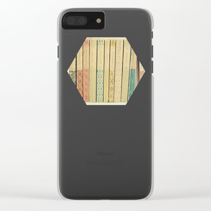 Old Books Clear iPhone Case