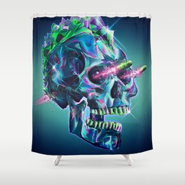 Diamond Mohawk II Shower Curtain