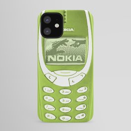 OLD NOKIA - Lime Green Version iPhone Case