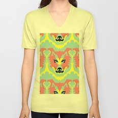 The Pack of Modular Wolves Unisex V-Neck