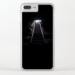 The Way Out Clear iPhone Case