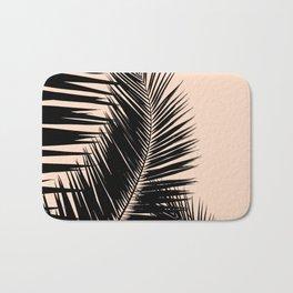 Palms on Pale Pink Bath Mat