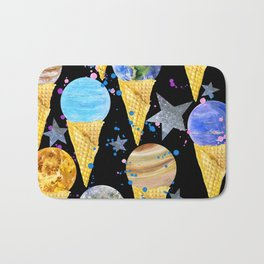 Univers with Planet of the solar system. Bath Mat