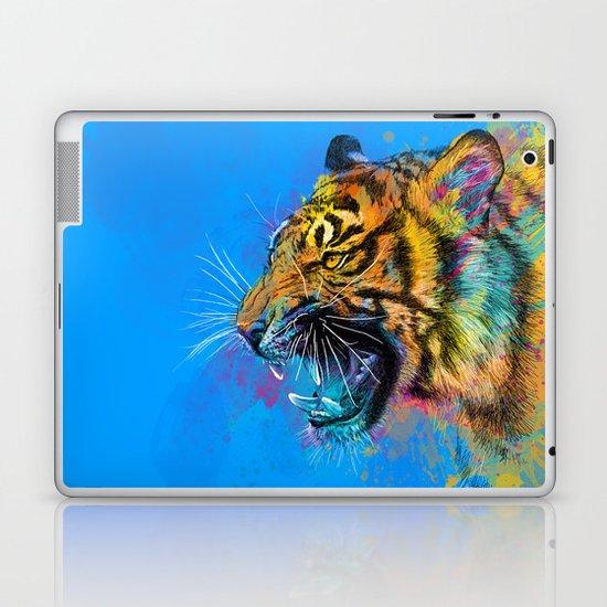 Angry Tiger Laptop & iPad Skin