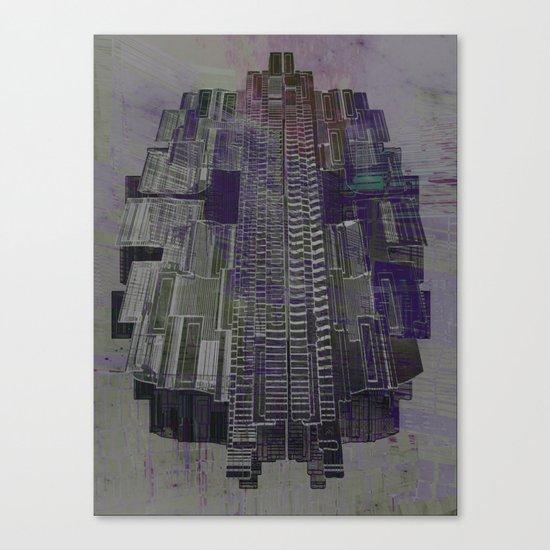 Urban Bubble into Space / 25-08-16 Canvas Print
