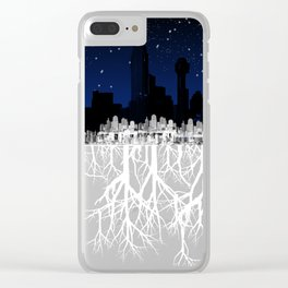 Smothered Nature Clear iPhone Case