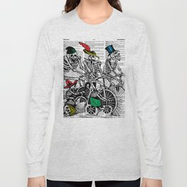 Calavera Cyclists Long Sleeve T-shirt