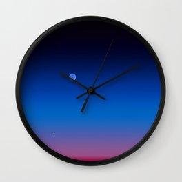 Amazing sunset photoshoot  Wall Clock