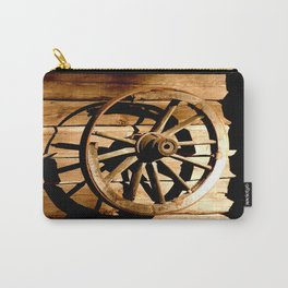 Old Cartwheel #decor #society6 Carry-All Pouch