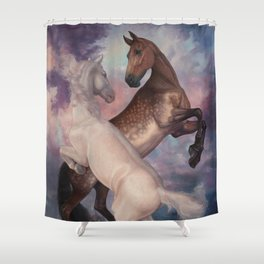 The memory Shower Curtain
