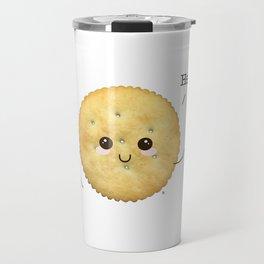 Super Cute Realistic Cracker Kawaii (Clever huh?) :p Travel Mug
