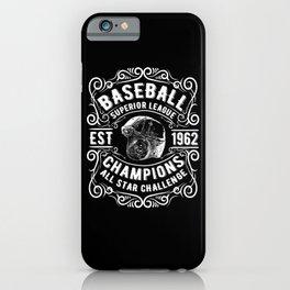 baseball league  iPhone Case
