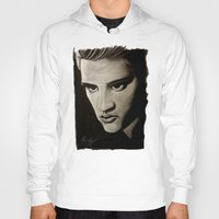 elvis Hoodies featuring ELVIS by John McGlynn