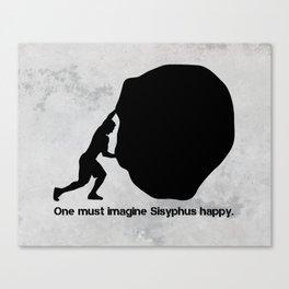 Camus - Sisyphus Canvas Print