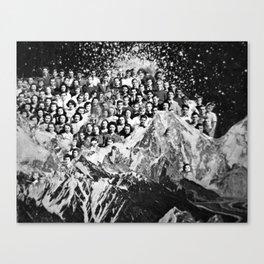 Class Reunion Canvas Print