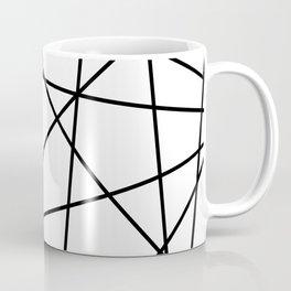 strips black Coffee Mug
