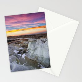 The Painted Mines Stationery Cards