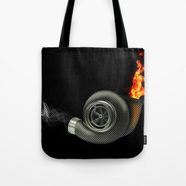 Turbocharged Tote Bag