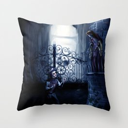 Steampunk Literature: Romeo & Juliet Throw Pillow