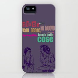 ecce bombo iPhone Case