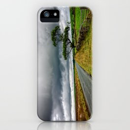 The road ahead iPhone Case